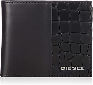 (ディーゼル) DIESEL メンズ ウォレット クロコ型押しカウレザー 二つ折り 財布 X06491P2392