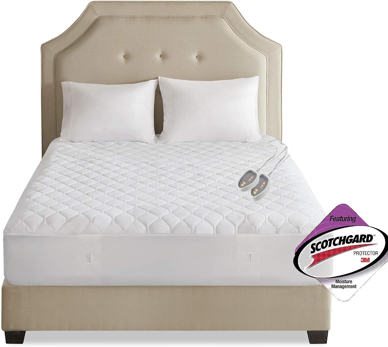 Beautyrest 3M mart Scotchgard Reservation Heated Secure Comfort Mattress-Pad Tech