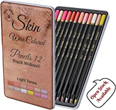 Light Skin Tone Colored Pencils for Adults - Color Pencils for Portraits and Skintone Artists Pencil