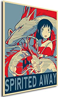 Instabuy Posters Propaganda - Studio Ghibli - Spirited Away (A4 30x21)