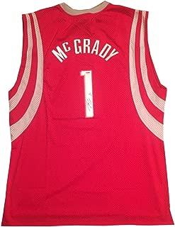 Tracy Mcgrady Autographed Signed Houston Rockets Autographed Signed Reebok Basketball Jersey Memorabilia PSA/DNA