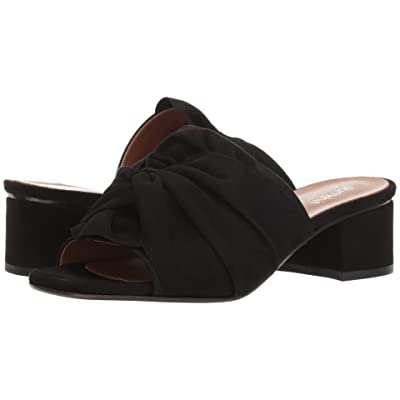 Summit by White Mountain Noelle (Black Suede) Women