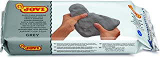 Jovi Air Dry Modeling Clay, Grey, 2.2 lb., Non-Staining, Perfect for Arts & Crafts Projects