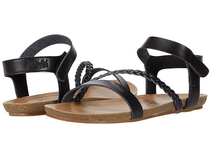Blowfish  Goya (Black Exotic Die Cut) Womens Sandals