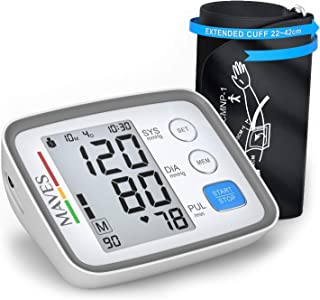 [Upgraded 2019] Blood Pressure Monitor -Automatic Digital Upper Arm BP Cuff -Fast Systolic & Diastolic Readings -2-Person - Mode-3.5
