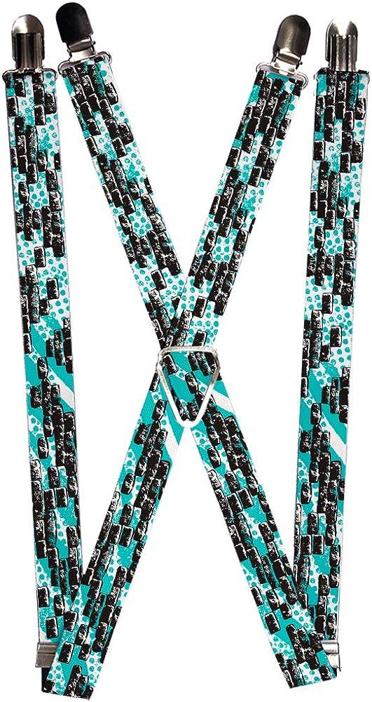 Buckle-Down Suspender - Bricks