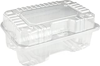 Clear Plastic Strawberry/Produce Vented 1 Quart Berry Basket/Container by MT Products - (15 Pieces)