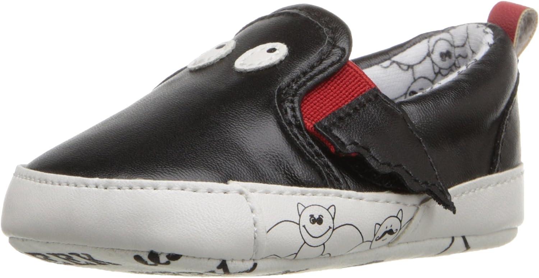 Rosie Pope Kids Footwear Prewalker Bat Crib Shoe (Infant)