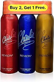 Revlon Charlie Deodorant For Women (Combo Of 3)