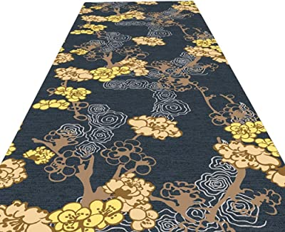 JIAJUAN Hallway Runner Rugs Kitchen Hall Slip Resistant Easy Clean Utility Long Mat, 6mm, 2 Styles, Multiple Lengths, Customizable (Color : A, Size : 1.2x2m)