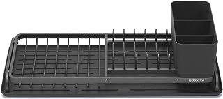 Brabantia - 117268 - Égouttoir à vaisselle compact, Gris foncé
