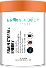 Brain Storm + Energy | Super Nootropic Brain Booster Supplement, Enhance Focus, Boost Concentration & Improve Memory, Mind Enhancement with N, N Dimethylglycine for Mental Alertness & Brain Function