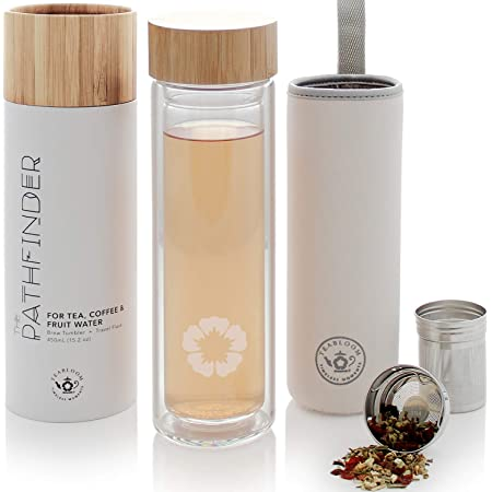 450 ml Gobelet-multicanaux Gobelet Bambou Sort-Where There/'s Tea-Coffee-to-go
