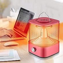 Calor portátil de acero inoxidable Hogar que viven calentador de la habitación, calentador for el hogar Mini multi-función con ahorro de energía estufa de calor rápida Difusor de aroma pequeña Calefac
