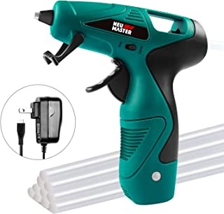 Cordless Hot Glue Gun, Rapid Heating Mini Glue Gun Kit with Premium Glue Stick, NEU..
