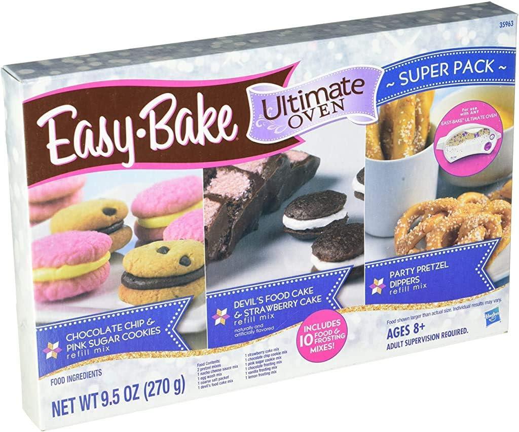 Easy-Bake Overseas parallel import regular item Refill Super Pack WT 9.5OZ Net security 270g