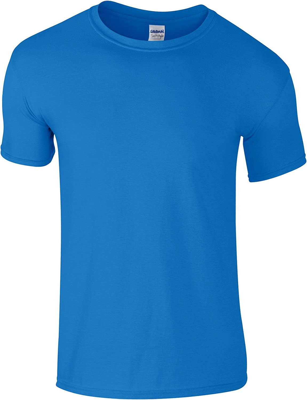 Gildan Childrens Unisex Soft Style T-Shirt (Pack of 2) (XS) (Saphire)