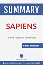 Summary: Sapiens: A Brief History of Humankind - by Yuval Noah Harari