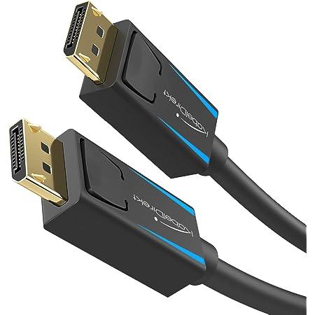 Kabeldirekt 8k Displayport Kabel 2m Elektronik