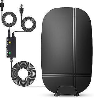 Kiteca Digital HDTV Antenna Indoor/Outdoor - Amplifier...