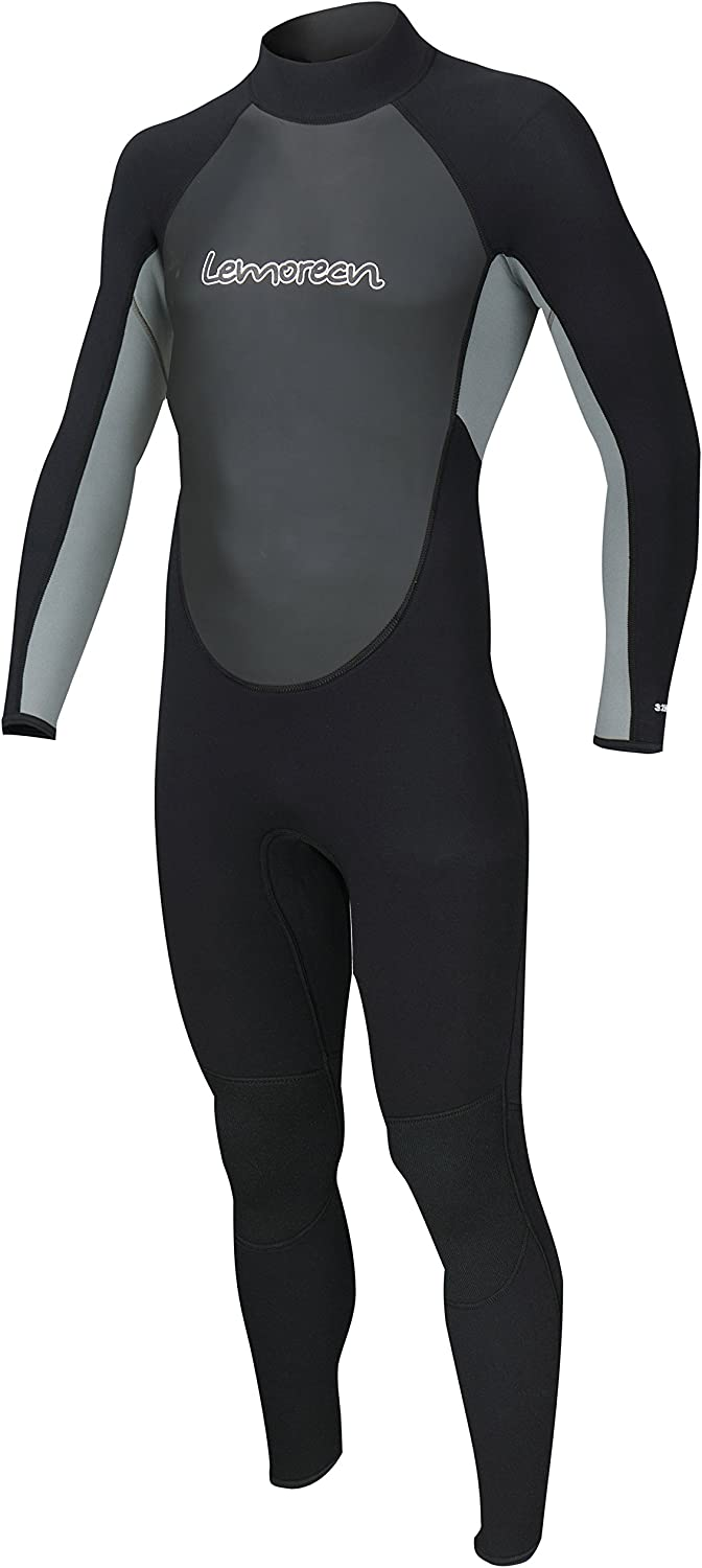 Lemorecn Wetsuits Mens Neoprene 3 2mm Full Suit