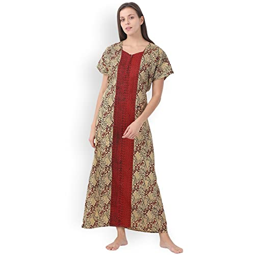 Klamotten Women's Cotton Nightdress