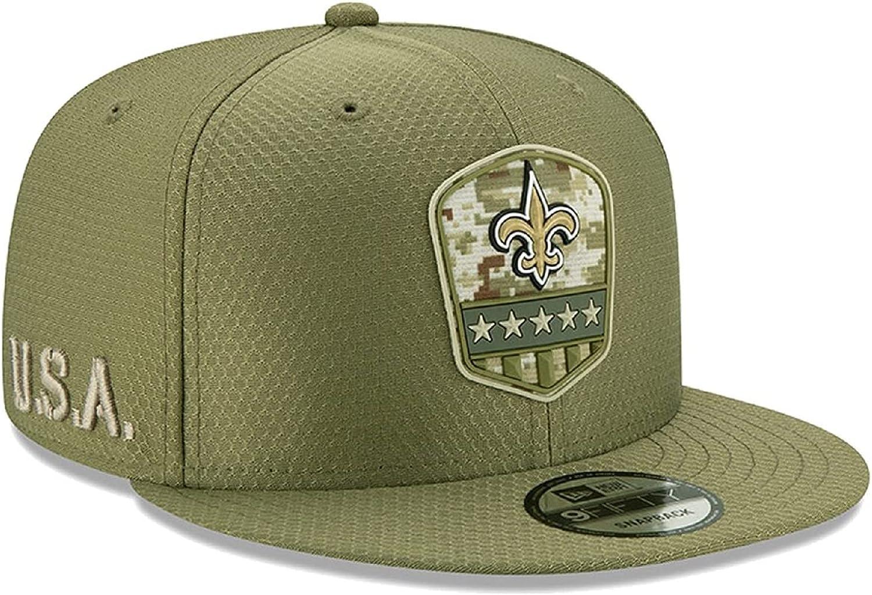 New Era Exclusive Selecition Men's Saints New Orleans Big Easy Adjustable Cap Hat One Size Fit Most