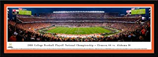 2018 College Football National Championship - Clemson vs Alabama - College Posters, Framed Pictures and Wall Decor by Blakeway Panoramas