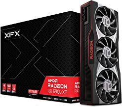 XFX AMD Radeon RX 6900 XT Gaming Graphics Card with 16GB GDDR6 Memory, Powered by AMD RDNA 2, HDMI 2.1 RX-69TMATFD8