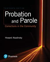 Probation and Parole: Corrections in the Community (2-downloads) PDF