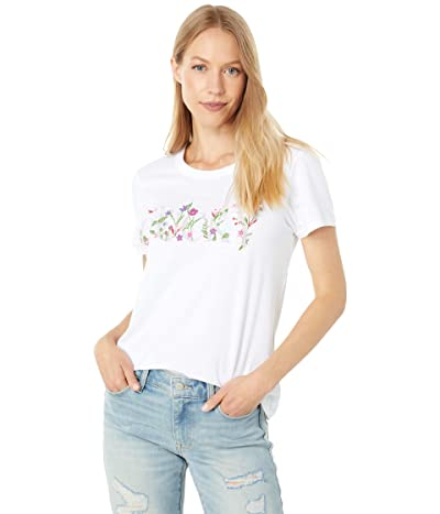 Lucky Brand Lucky Embroidered Classic Crew