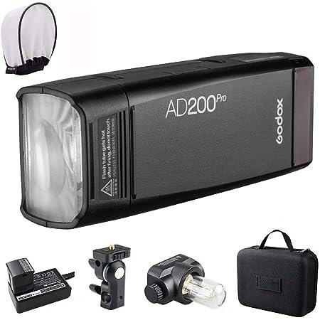【Godox正規代理店】Godox AD200Proストロボ ポケットサイズ 高速同期 無線制御可能