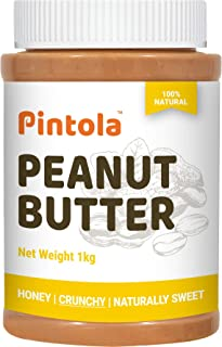 Pintola All Natural Honey Peanut Butter (Crunchy) (1kg)