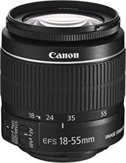 Canon EF-S - Zoom Lens - 18 mm - 55 mm - f/3.5-5.6 (Renewed)