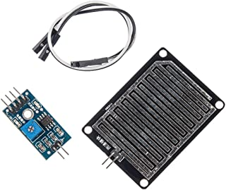Snow Raindrops Detection Sensor Module Compatible With Arduino by Atomic Market