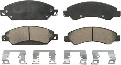 Wagner QuickStop ZD1092 Ceramic Disc Pad Set Includes Pad Installation Hardware, Front