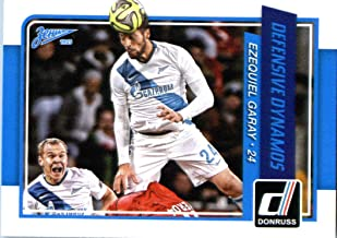 2015 Donruss Defensive Dynamos #2 Ezequiel Garay Zenit St. Petersburg Soccer Card