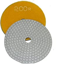 4 Inch Alpha Ceramica Dry Polishing Pad for Natural Stone - 200 Grit