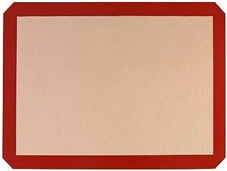 ZHEBEI Tapis de cuisson antiadhésif pour pâtisserie 40 x 30 cm