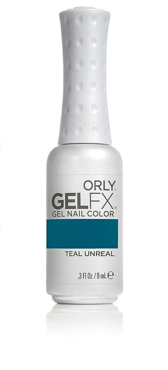 エゴマニア配管工バスルームOrly GelFX Gel Polish - Teal Unreal - 0.3oz / 9ml