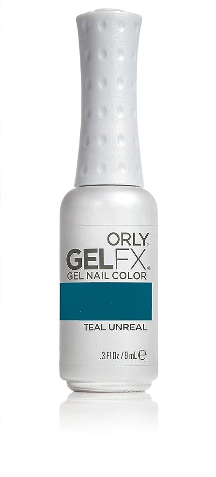ファンド触覚赤外線Orly GelFX Gel Polish - Teal Unreal - 0.3oz / 9ml