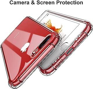 iPhone 7 Plus/iPhone 8 Plus, Shock Absorption 4 Corners Bumper Ultra-Thin Flexible Transparent TPU Cover, Phone Skin for iPhone 8 Plus (Clear)