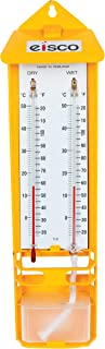Wet-Dry Bulb Hygrometer, Wall Mounted Thermometers - Eisco Labs