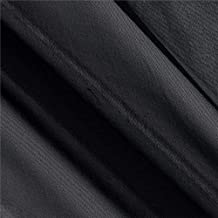 Ben Textiles Chiffon Solid Black Fabric By The Yard