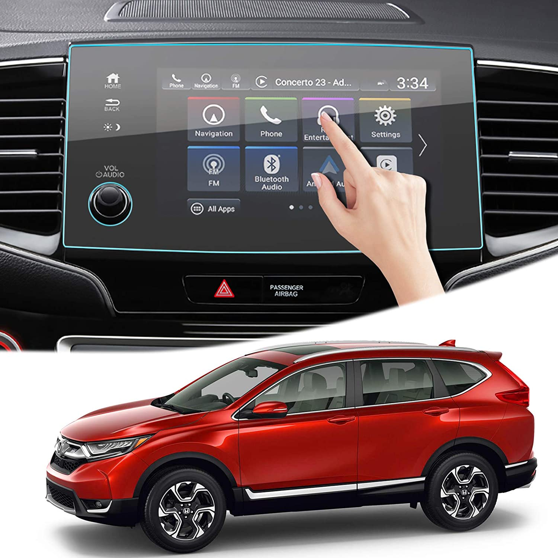 Moonlinks Pilot Screen Protector Compatible with Honda Pilot 2019 2020 2021 2022, 9H hardness Anti Scratch Fingerprint Tempered Glass Center Pilot Navigation Screen Protector (8-Inch)