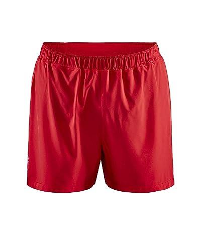 Craft ADV Essence 5 Stretch Shorts (Bright Red) Men
