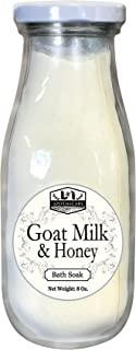 Organic Goat Milk & Honey Bath Soak, enriches Bath water and helps exfoliates the skin, Enhance the beauty of your Skin, treat skin problems and Nourishes the skin