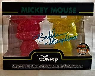 Bret Iwan Autographed Signed Memorabilia Mickey Mouse Mini Hikaki Le 3500 Autograph Beckett BAS COA 00