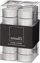 Amalfi APCA 19 Classic Unscented Tealights, Pack of 28