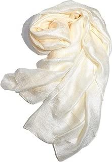 Shanlin Solid Color Silk Feel Long Scarves